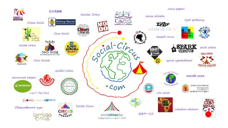 social-circus logo and partners